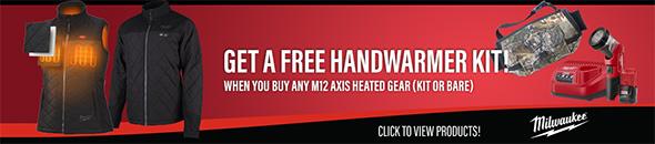 Ohio Power Tool Milwaukee Deals Holiday 2018 Free Handwarmer
