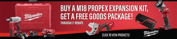 Ohio Power Tool Milwaukee Deals Holiday 2018 Propex E-Rebate