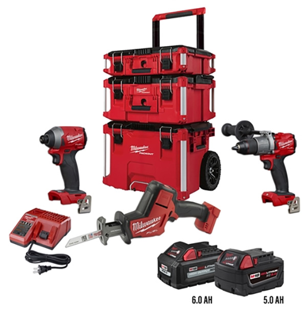 Ohio Power Tool Milwaukee M18 Fuel and Packout Bundle