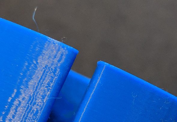 Plastic flash on the bottom of a 3D printed part