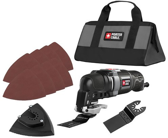 Porter Cable PCE606K Oscillating Multi-Tool Kit