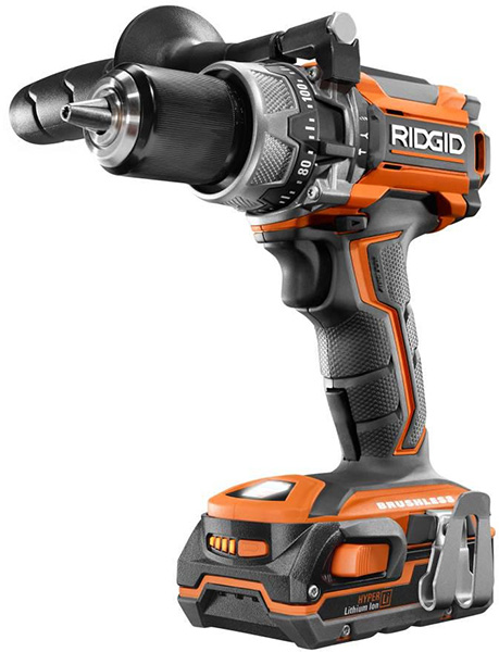 Ridgid 18V Brushless Hammer Drill Black Friday 2018 Deal