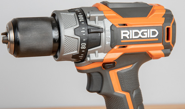 Ridgid R86116 Black Friday 2018 Cordless Drill Selector Switch and Clutch Dial