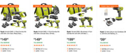 Ryobi Cordless Power Tool Deal of the Day Black Friday 2018