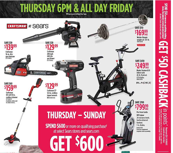 Sears Black Friday 2018 Tool Deals Page 5