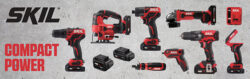 SKIL Brand Relaunch Kicks off with New PWRCore Cordless Power Tools