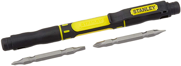 Stanley 4-in-1 Mini Screwdriver