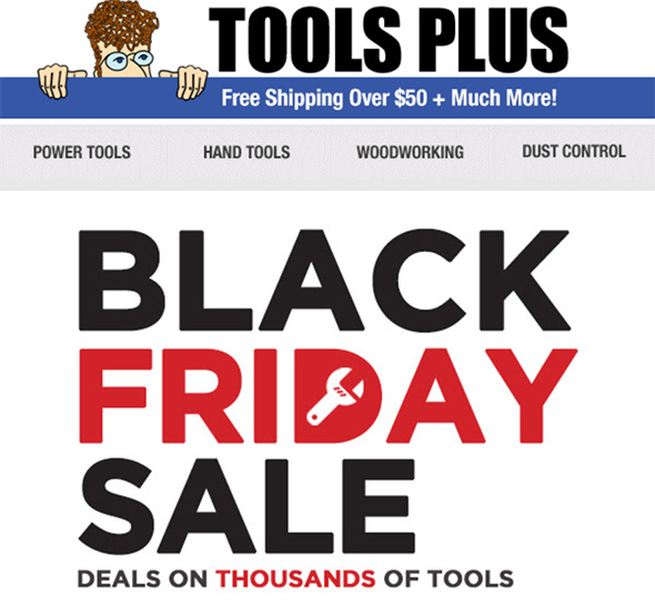 Tools-Plus Black Friday 2018 Sale