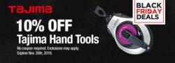 Tools-Plus-tajima-black-friday-deal-banner-2018