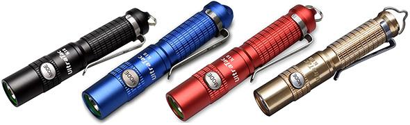 Ultratac K18 LED Flashlight Color Options