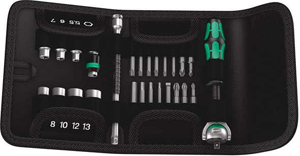 Wera Fold-up Metric Socket Set