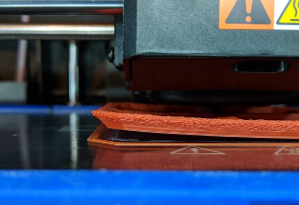 ABS Print lifting off Print Bed Dremel 3D45