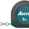 Anvil 6-foot Tape Measure Keychain