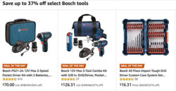 Bosch Tools Deal of the Day 12-20-18