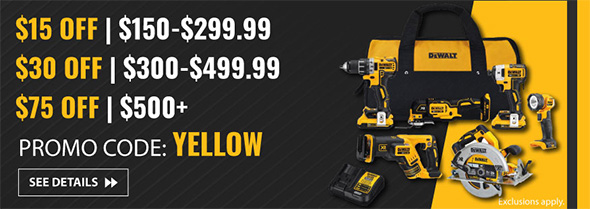 Dewalt Buy More Save More at Acme Tools Holiday 2018