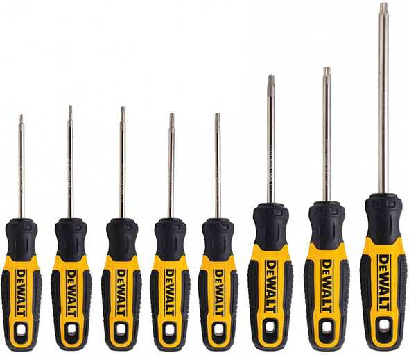 Dewalt USA-made Torx Screwdrivers