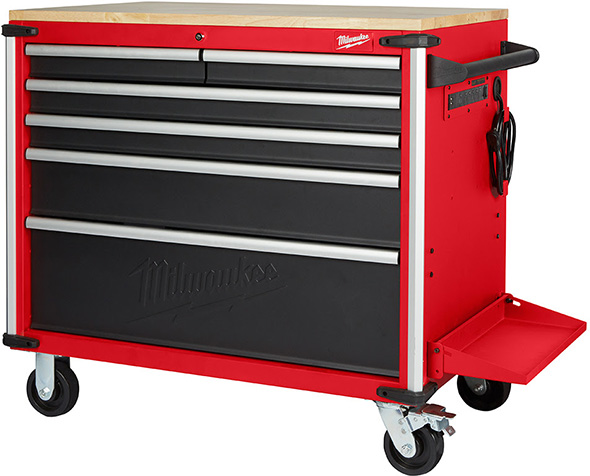New Milwaukee 40 Mobile Workbench For 2019
