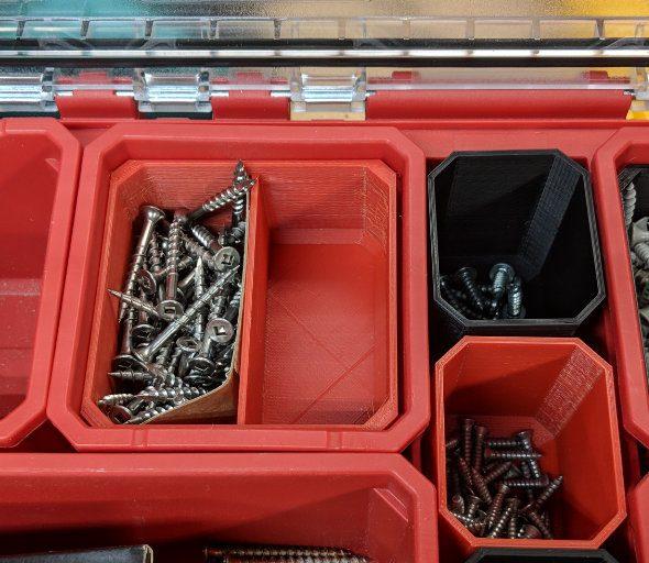 Packout bin inserts
