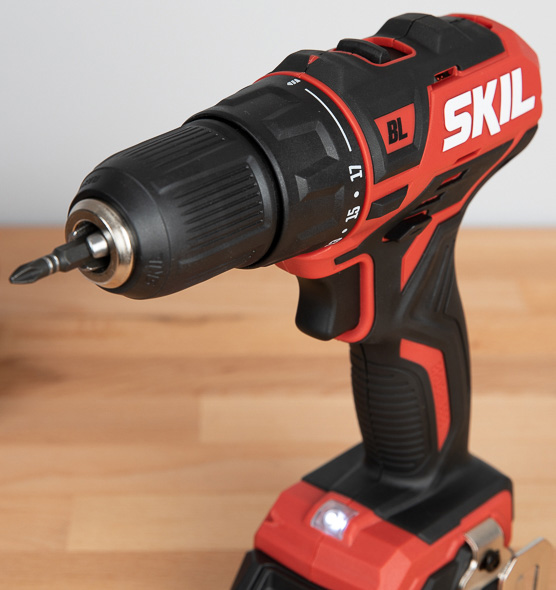 Skil PWRCore 12 Brushless Drill Chuck with Bit