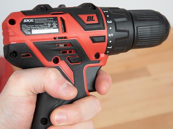 Skil PWRCore 12 Brushless Drill Ergonomics
