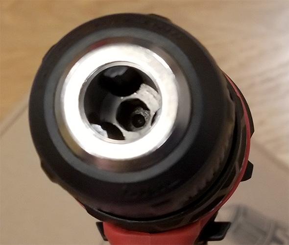 Skil PWRCore 12 Drill Chuck Screwdriver Bit Recess
