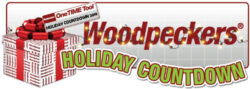 Woodpeckers Holiday Countdown graphic