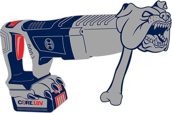 Bosch Bulldog Cordless Rotary Hammer