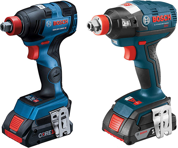 Bosch Freak Impact Driver Wrench Comparison