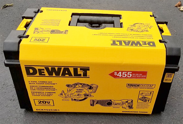 Dewalt Cordless Saw and ToughSystem Bundle H2018