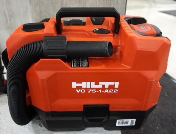 Hilti VC 75-1-A22 22V cordless vacuum