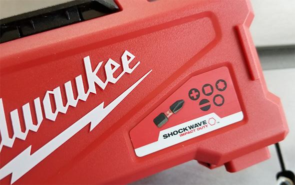 Milwaukee Shockwave Bit Set Label