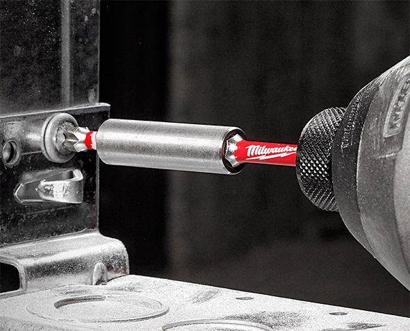Milwaukee 6 in Magnetic Bit Holder Shockwave Power Tool Impact Driver Accessory