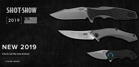 New Zero Tolerance Knives for 2019