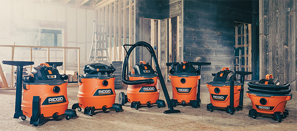 New Ridgid NXT Wet/Dry Shop Vacuums are Better Than Ever