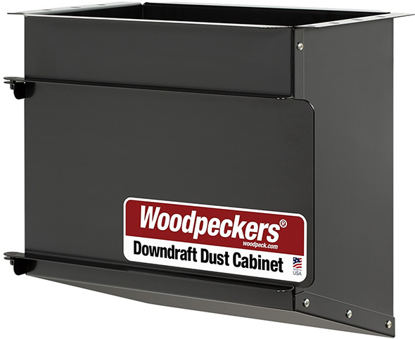 Woodpeckers Router Table Downdraft Dust Cabinet