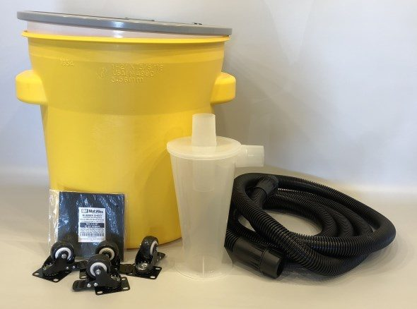 Building a DIY Dust Deputy Cyclone Separator