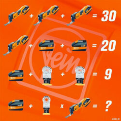 Fein USA Tools Math Puzzle Challenge