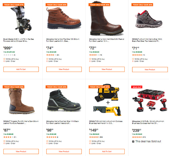 Home Depot Tool Deals of the Day 2-25-2019 Page 3