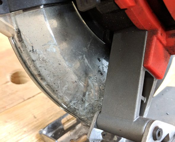 Milwaukee M18 Fuel Metal Cutting Circular Saw visibility inhibited