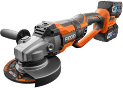 New Ridgid 18V 7-inch Cordless Grinder for Octane Batteries
