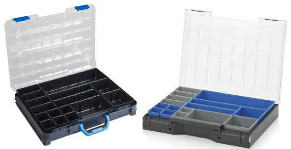 Auer Packaging Assortment Boxes - Compared to Sortimo T-Boxx