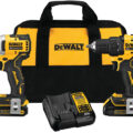 Dewalt Atomic 20V Max Compact Brushless Cordless Drill and Impact Driver Combo Kit