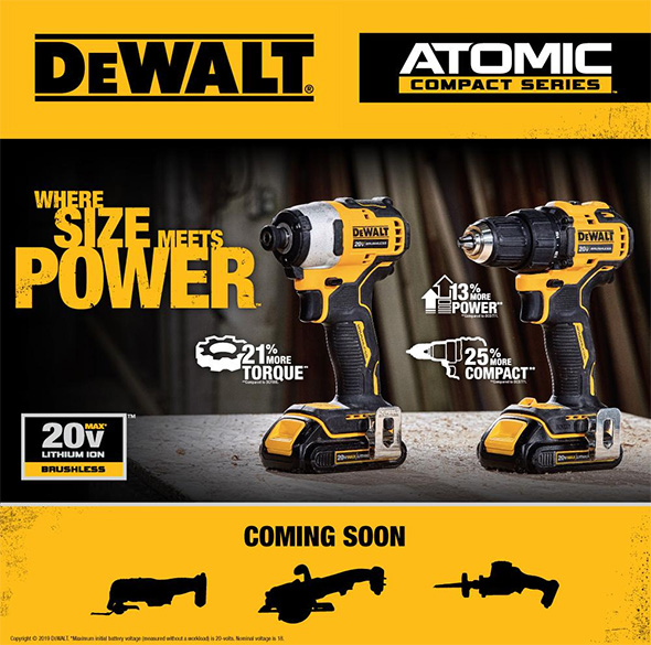 Best Cordless Reciprocating Saw 2020 Dewalt Officially Announces 6 New ATOMIC Cordless Power Tools