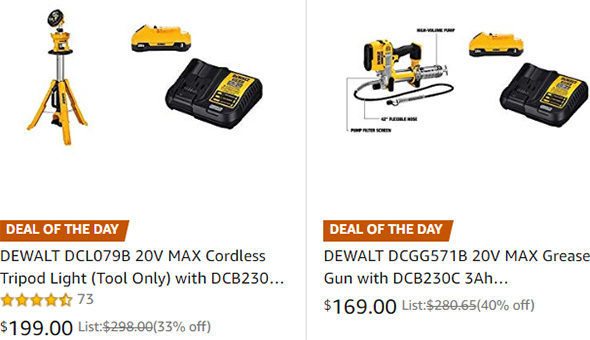 Dewalt Tool Deals 3-13-19 Part 2