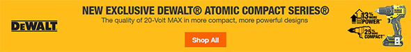 Home Depot Dewalt Exclusive Atomic Cordless Power Tools