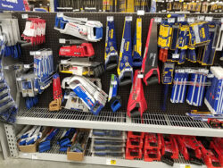 Lowes Hand Saw Tool Display March 2019