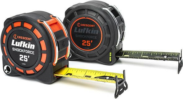 Lufkin Shockforce Tape Measures