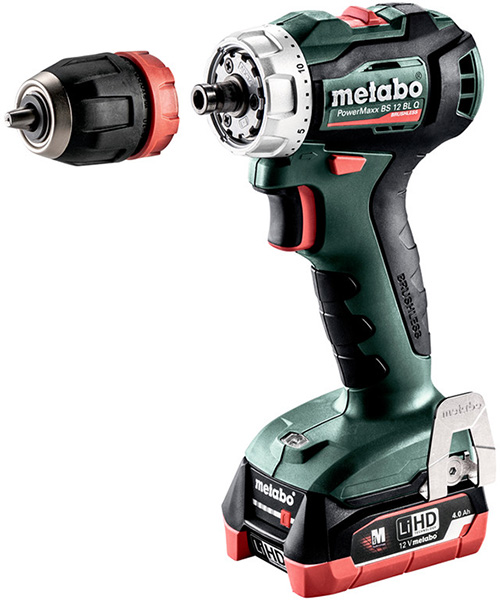 Metabo 12V Brushless Drills and Impact Drivers are Now