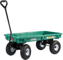 Millside Farm Tuff Plastic Deck Garden Wagon