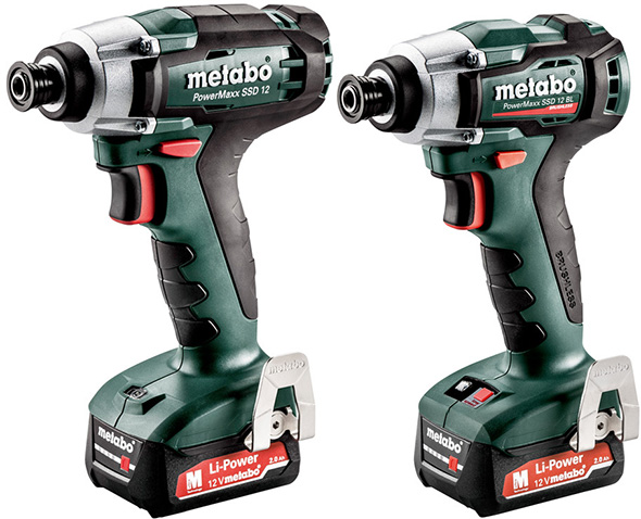 New Metabo 12V Max Cordless Impact Drivers